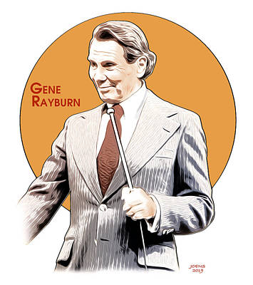 Digital Art - Gene Rayburn by Greg Joens