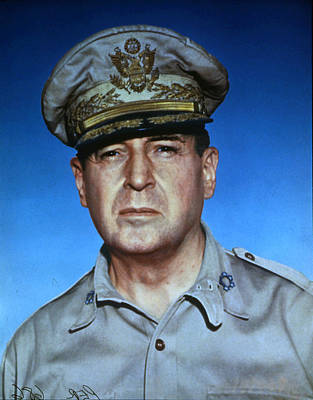 General Photograph - General Douglas Macarthur by Photoquest