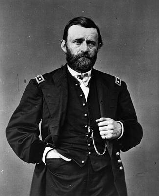 General Photograph - General Grant by Hulton Archive