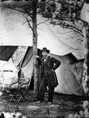 Photograph - General Grant by Mathew Brady