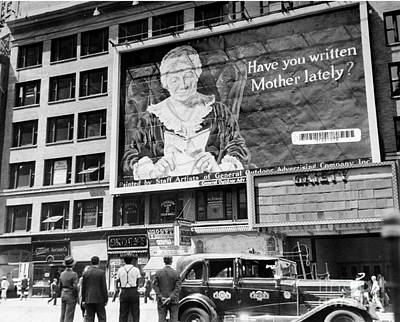 Photograph - General Outdoor Advertising Company Put by New York Daily News Archive