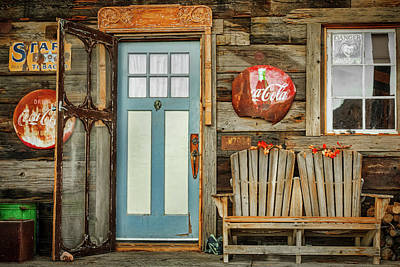 Photograph - General Store Entrance by Susan Candelario