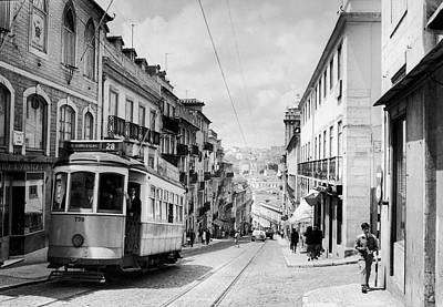 General Photograph - General View Of A Street In Lisbon In by Keystone-france
