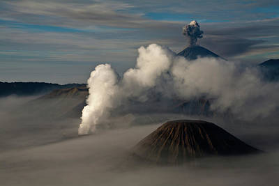 General Photograph - General View Of Mt. Bromo by Athit Perawongmetha