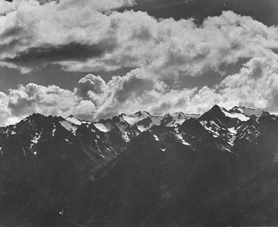 General Photograph - General View Of Olympic Mountains.  Pho by Peter Stackpole