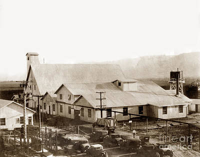Photograph - General View Of The Juayule Rubber Factory In The Salinas Valley by California Views Archives Mr Pat Hathaway Archives