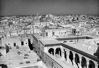 General Photograph - General View Of Tunisia In 1954 by Keystone-france