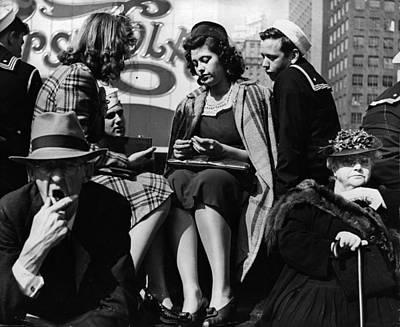Photograph - Generation Gap by Skippy Adelman