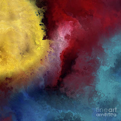 Painting - Genesis 1 3. Let There Be Light by Mark Lawrence