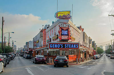 Photograph - Genos In South Philly by Bill Cannon