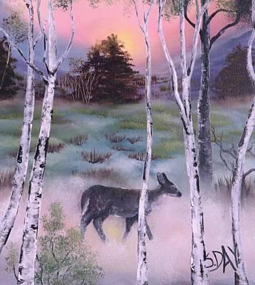 Gentle Mist Art Print