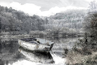 Photograph - Gentle Morning In Black And White by Debra and Dave Vanderlaan