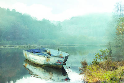 Photograph - Gentle Morning In The Fog by Debra and Dave Vanderlaan