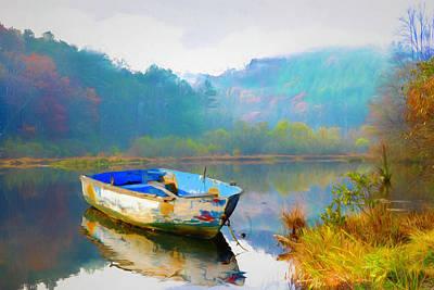 Photograph - Gentle Morning In Watercolors by Debra and Dave Vanderlaan
