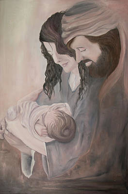 Painting - Gentle Savior by Nila Jane Autry