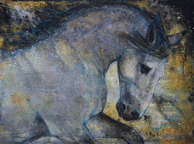 Mixed Media - Gentle Spirit by Jani Freimann