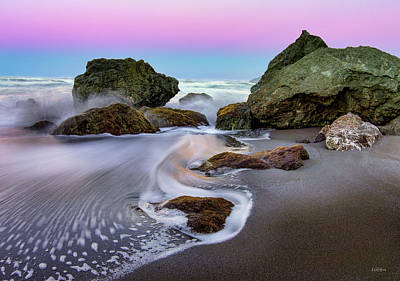 Photograph - Gentle Waves by Leland D Howard
