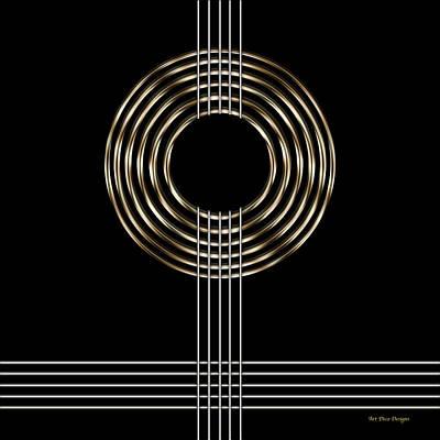 Digital Art - Geo 12  by Chuck Staley