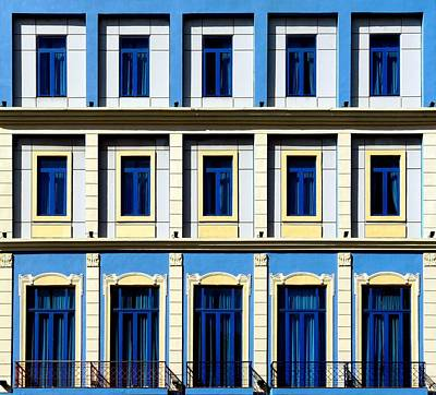Photograph - Geometric Colonial Buildings by Francesco Pallante (isco72)
