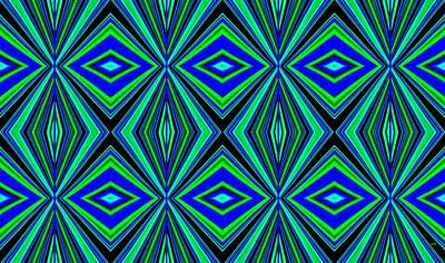 Royalty-Free and Rights-Managed Images - Geometric Harmony 2 by Will Borden