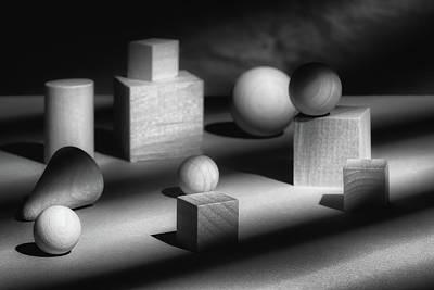 Shapes Wall Art - Photograph - Geometric Shapes by Tom Mc Nemar