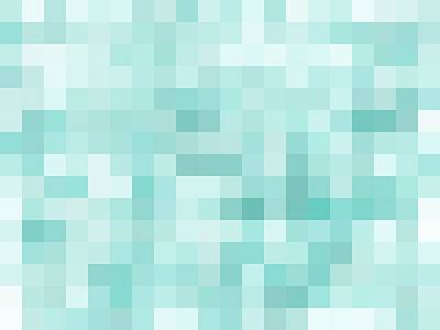 Giuseppe Cristiano - Geometric Square Pixel Pattern Abstract In Green by Tim LA