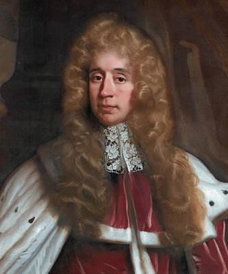Painting - George, 1st Baron Jeffreys Of Wem by John Riley