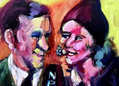 Painting - George And Gracie by Les Leffingwell