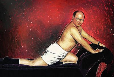 Portraits Royalty-Free and Rights-Managed Images - George Costanza by Zapista Zapista