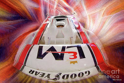 Photograph - Above George Follmer 917-10 Porsche  by Blake Richards