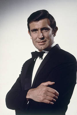 Photograph - George Lazenby As James Bond by Loomis Dean