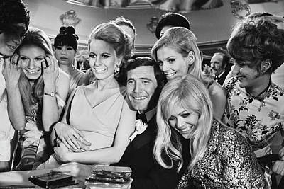 Photograph - George Lazenby by Michael Stroud