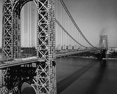 Photograph - George Washington Bridge by Frederic Lewis