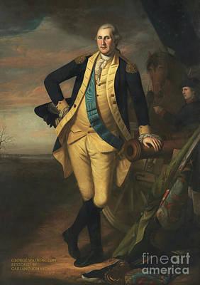 Politicians Mixed Media - George Washington by Garland Johnson