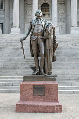 Photograph - George Washington - State Capitol by Dale Powell
