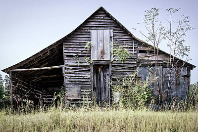 Photograph - Georgia Barn by Randy Bayne