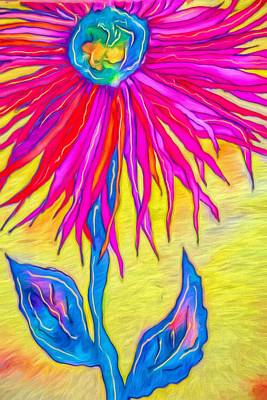 Photograph - Gerbera D Leaves by Alice Gipson