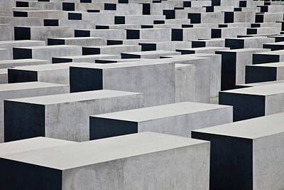 Photograph - Germany, Berlin, The Holocaust Memorial by Buena Vista Images