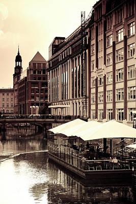 Photograph - Germany, Hamburg by Michele Falzone
