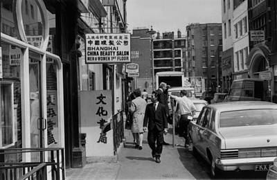 England Photograph - Gerrard Street by Dove
