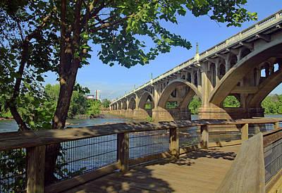 Photograph - Gervais Street Bridge 5 22 A by Joseph C Hinson Photography