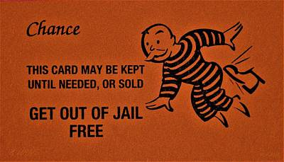 Photograph - Get Out Of Jail Free Chance by Rob Hans