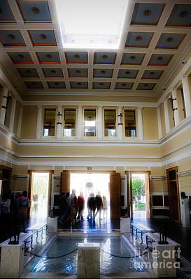 Photograph - Getty Villa California  by Chuck Kuhn