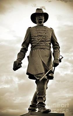 Summer Trends 18 - Gettysburg Battlefield - Brig. Gen. John Gibbon by Cindy Treger