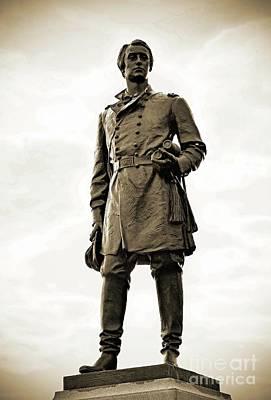 Summer Trends 18 - Gettysburg Battlefield - Maj. Gen. Francis Barlow by Cindy Treger