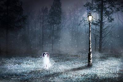 Ghost Dog Art Print