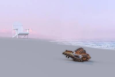 Surrealism Digital Art - Ghost Stories 3D Render by Betsy Knapp