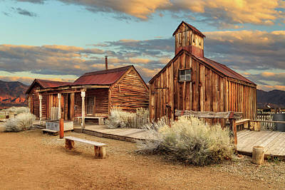 Photograph - Ghost Town Out West by James Eddy