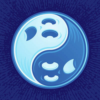 Royalty-Free and Rights-Managed Images - Ghost Yin Yang by John Schwegel