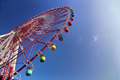 Photograph - Giant Wheel by Gulfu Photography